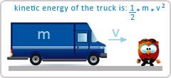 truck kinetic energy